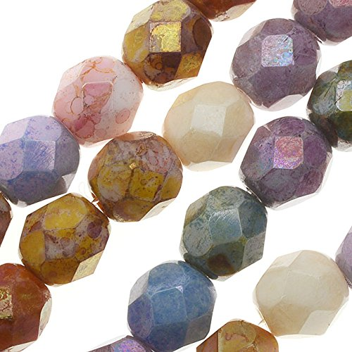 Opaque Glass Beads - 6