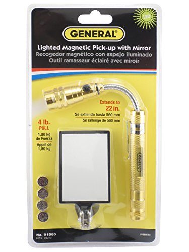 General Tools 91560 Led Lighted 22 Inch Telescoping
