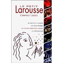Le Petit Larousse Illustre 2003
