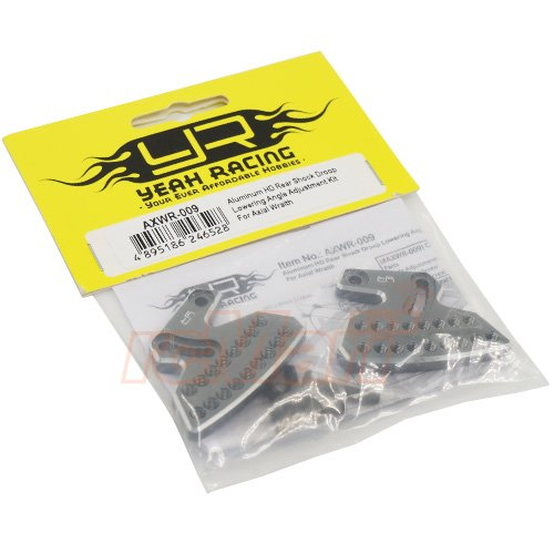 Yeah Racing Axial Wraith Aluminum HD Rear Shock Lowering Angle Kit AXWR-009