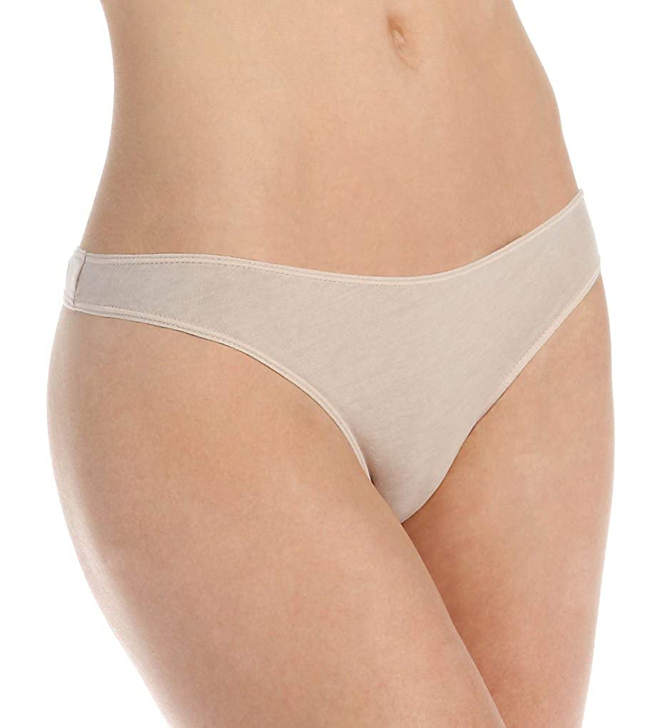 Skin Womens Solid Thong