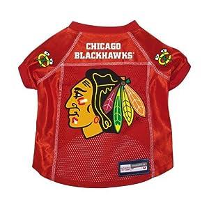 Chicago Blackhawks Premium Pet Dog Hockey Jersey w/ Name Tag SMALL