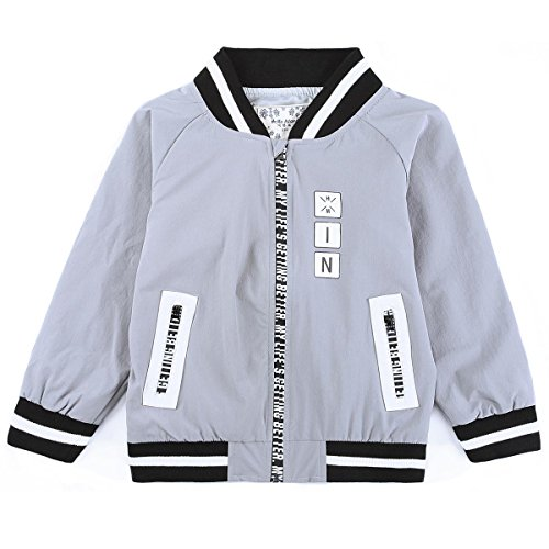 HMD Track Top Bomber Jackets Breathable Windbreaker For Toddler Kids Boys 3 To 9 Years - Fashion Island