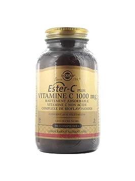 Ester C Plus 90 comprimidos 1000 mg de Solgar: Amazon.es: Salud y cuidado personal