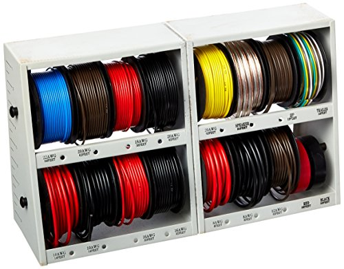 Wire Various (GRIP 43117 17 Pc Wire Assortment with Steel Rack Various)