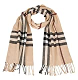ACMEDE Children Girls Boys Tartan Scarf Wraps Spring Autumn Winter Grid Scarves