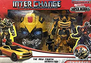 Ultimate Robot Transformer With mask
