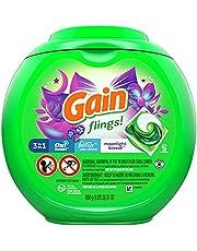 Gain flings! Laundry Detergent Liquid Pacs, Moonlight Bree