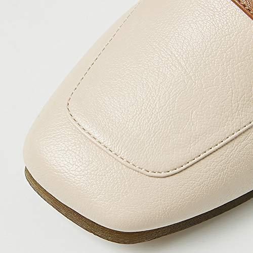 le Yxx blancs cuir haut Low pour inserts avec bas magasins Chaussures et femmes et bureau Oxford en pour talon les qP6xprqHw