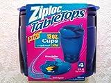 ziploc tabletops - Ziploc TableTops 4 Cups with Spill-Proof Lids