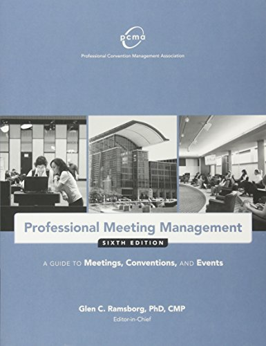 1932841970 - Professional Meeting Management: A Guide to Meetings, Conventions, and Events