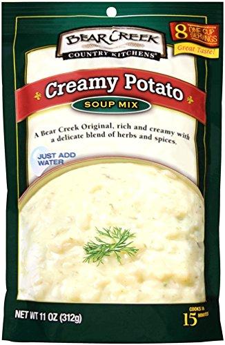 Bear Creek Soup Mix, Creamy Potato, 11 Ounce (Pack of 6) -