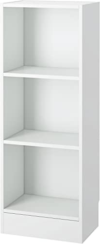 Tvilum Element Narrow 3 Shelf Bookcase
