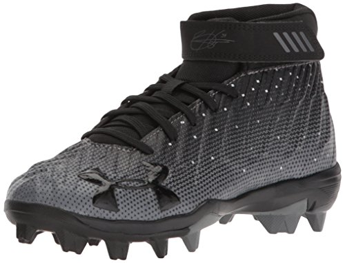 Under Armour Boys' Harper 2 RM Jr, Black (001)/Black, 2.5