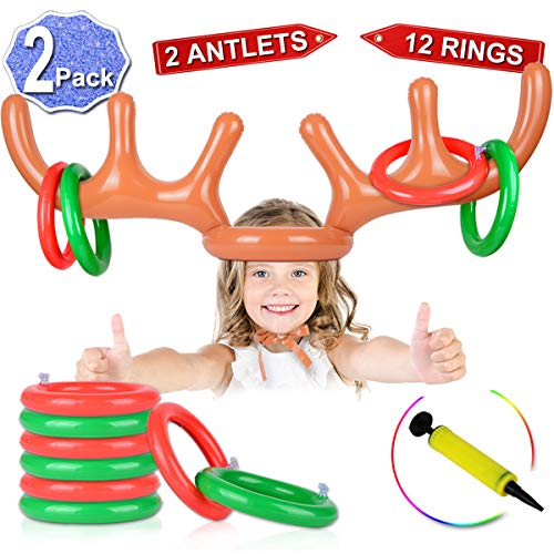 2 Set Inflatable Reindeer