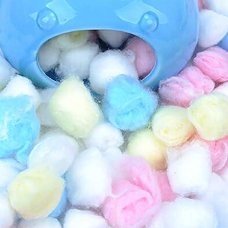 Alivier Colorido algodón Bola Hamster Invierno Cálido Casa Jaula Suministro Relleno Filtro Algodón Relleno de Bolas: Amazon.es: Productos para mascotas