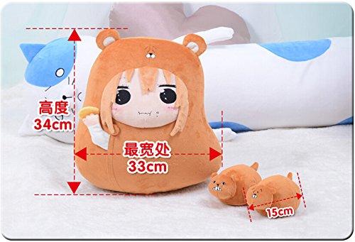 Anime Himouto! Umaru-chan Umaru Cosplay Plush Doll Cushion Moe Gift Eating Umaru N1