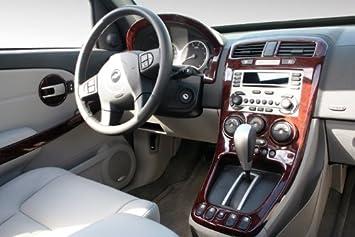 Amazon Com Chevrolet Chevy Equinox Ls Lt Interior Burl Wood Dash Trim Kit Set 2005 2006 Automotive