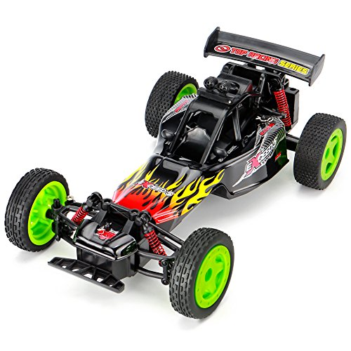 Remote Control Car Off Road 2.4GHz Karting RC Car BG1503 High Speed Racing 1:16 Scale 2.4GHz 50M Fast Rock Off Road Car with Light
