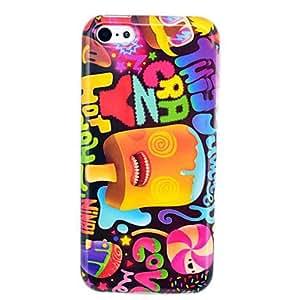 Ice Cream Soft TPU Gel Case for iphone 5C