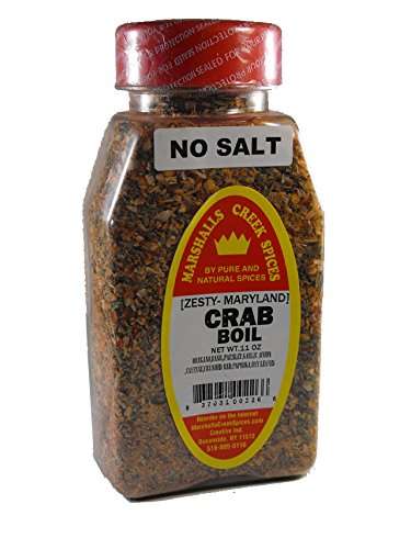 Marshall's Creek Spices Crab Boil, No Salt, 11 (Crab Spice)