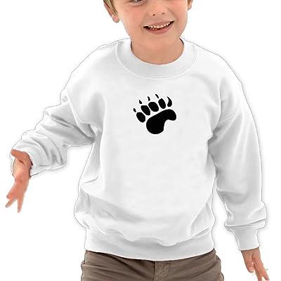 Anutknow Claw Children's Round Neck Soft Hoodies Sweatshirt
