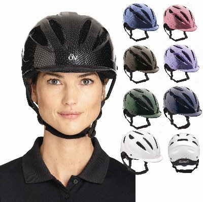 UPC 841095545362, Ovation Women's Protege Riding Helmet Purple L/X US