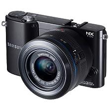 Samsung NX1100 Smart Wi-Fi Digital Camera Body & 20-50mm Lens (Black)