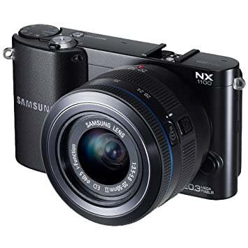 Samsung NX1100 Black Digital Camera w/ 20-50mm Lens