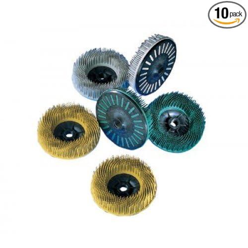 3m Scotch-BriteTM Bristle Disc, 4-1/2' X 5/8-11, 36 Grade 4-1/2 X 5/8-11