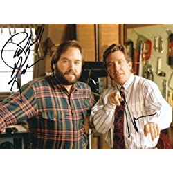Home Improvement - Tim Allen & Richard Karn -Signed 8x10 Photograph in Mint Condition COA PROOF -
