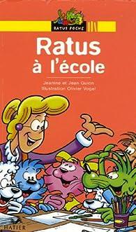 Ratus à l'école par Jeanine Guion