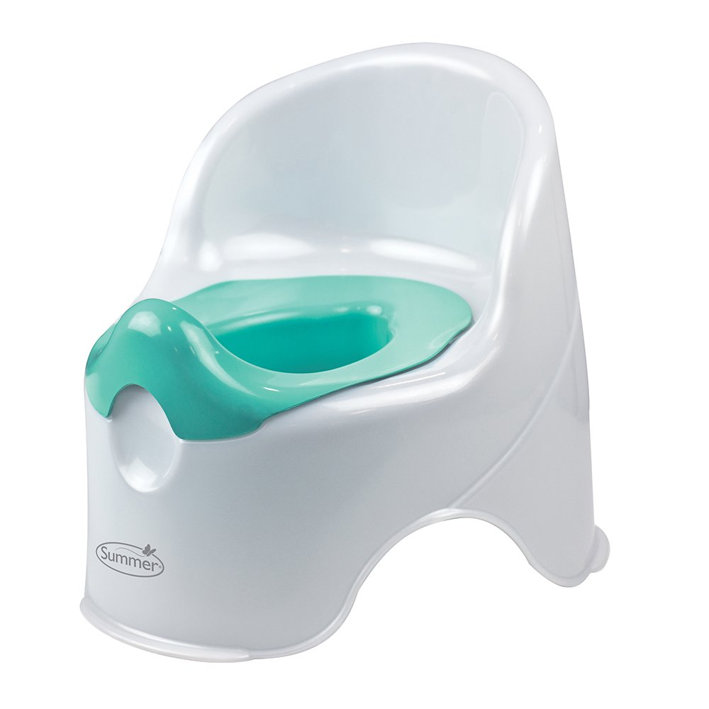 Summer Infant Lil' Loo Potty, White and Teal by Summer Infant (Image #1)