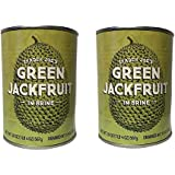 Trader Joe's Green Jackfruit in Brine 20 Ounces (2 Pack)