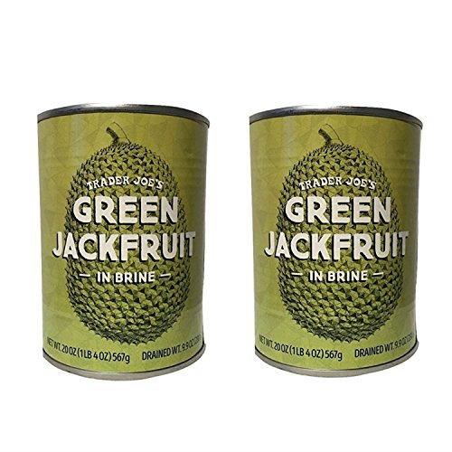 (Trader Joe's Green Jackfruit in Brine 20 Ounces (2 Pack))