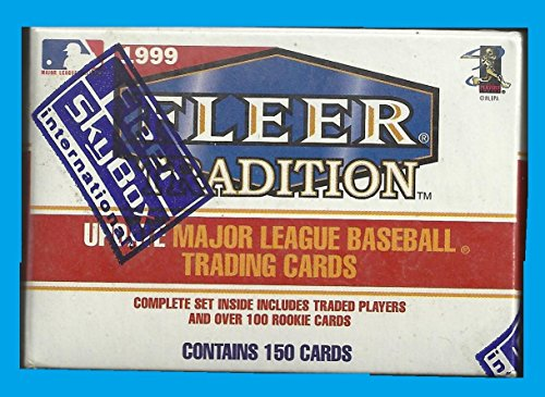 Baseball 1999 Update Fleer Tradition - 1999 FLEER TRADITION UPDATE BASEBALL FACTORY SEALED SET WITH FREE 1989 FLEER PACK