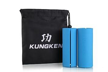 kungken Fitness agarre Bar brazo músculo constructor mancuerna y barra de pesas de grosor 1 par: Amazon.es: Deportes y aire libre