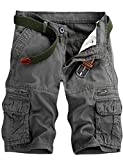 Best Mens Cargo Shorts - Men's Lightweight Multi Pocket Casual Cargo Shorts Review