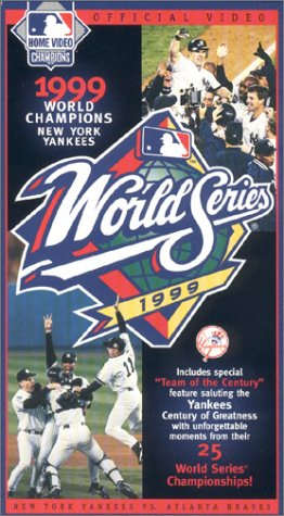 2000 World Series Baseball (1999 Official World Series Video - New York Yankees vs. Atlanta Braves [VHS])