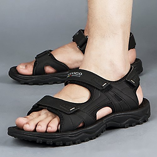 Shoes Comfortable Slippers Beach Business Junsi Unisex Sandals Classic Black Casual slip Non wgCInATq