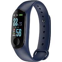 MeiLiu Reloj Inteligente de Seguimiento de Actividad física, podómetro/Control de calorías/sueño/detección de frecuencia…