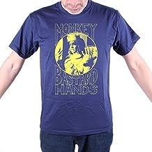 Old Skool Hooligans Garth Marenghi's Darkplace T shirt - Monkey Bastard Hands