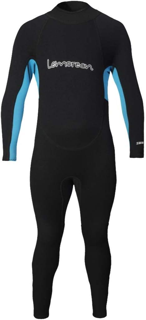 Lemorecn Kids Wetsuits Youth Premium Neoprene 2mm Youths Shorty Swim Suits
