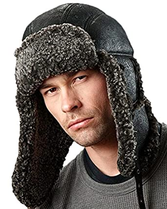 429961662fde0 frr Ultimate B-3 Shearling Sheepskin Aviator at Amazon Men s Clothing store