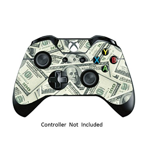 Skins Stickers for Xbox One Games Controller - Custom Orginal Xbox 1 Remote Controller Wired Wireless Protective Decals Covers - High Gloss Protector Accessories - Big ()