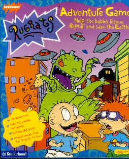 Nickelodeon Rugrats Adventure Game By Broderbund