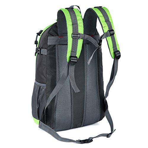HCLHWYDHCLHWYD-bolso de hombro masiva de estudiantes hombres deportes al aire libre empaqueta el bolso de la bolsa de viaje de montañismo 35L , 3 4