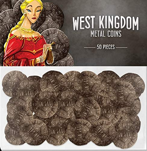 - Renegade Game Studios RGS0818 West Kingdom Metal Coins