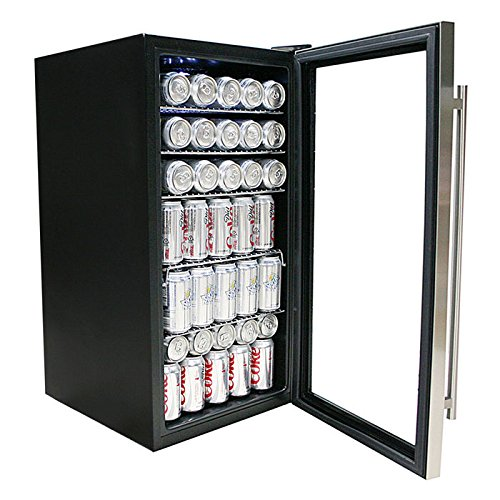 Whynter BR 130SB Beverage Refrigerator Stainless product image