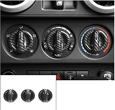 Nicebee 7pcs//Set ABS Interior Door Handle Decoration Center Control Panel Trim Cover Stickers for Jeep Grand Cherokee 2011+ Red